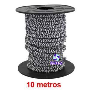 Cable Trenzado 2 x 0,75 Jaspeado 10 metros