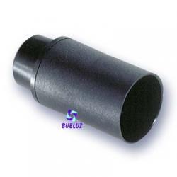 Portalamparas Termoplastico E-14 liso negro