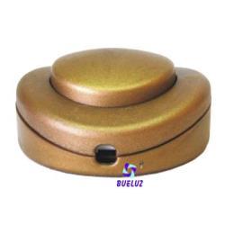 Interruptor de paso Dorado (Pie)
