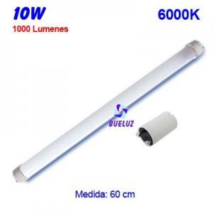 TUBO LED T8 60cm 10W 6000K