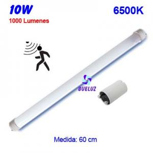 TUBO LED T8 60cm 10W 6500K DETECTOR MOVIMIENTO