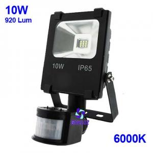 PROYECTOR LED 10W 6000K CON DETECTOR