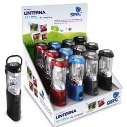 Linterna Camping 11 LEDs -