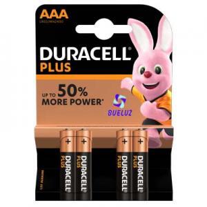 Pila Duracell Plus Alcalina (AAA) LR03