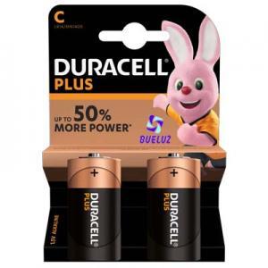 Pila Duracell Plus Alcalina (C) LR14