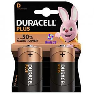 Pila Duracell Plus Alcalina (D) LR20