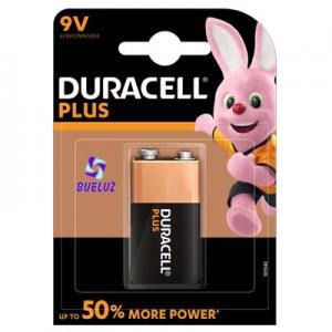 Pila Duracell Plus Alcalina (9V) 6LR61