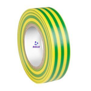 Cinta Aislante PVC 20 x 19 mm Verde-Amarillo