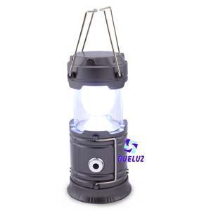 Linterna camping de LED compacta con interruptor y asa -