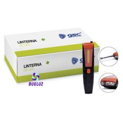 Linterna LED COB + Antena Iman