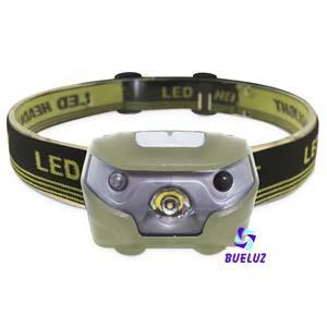 Linterna de Cabeza LED + Sensor