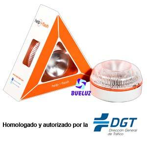 HELP- FLASH Luz Emergencia Vehiculos