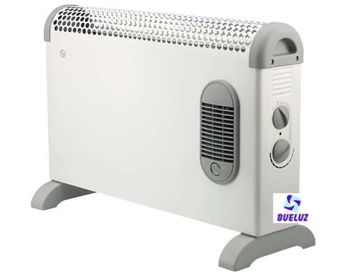 Convector turbo con termostato 1800W -