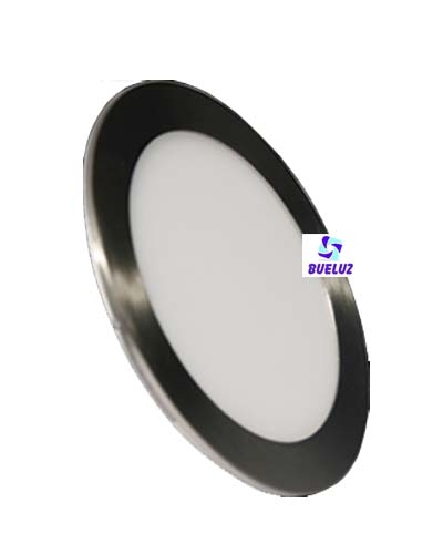 Downlight LED 18W extraplano Niquel Satinado 6000K