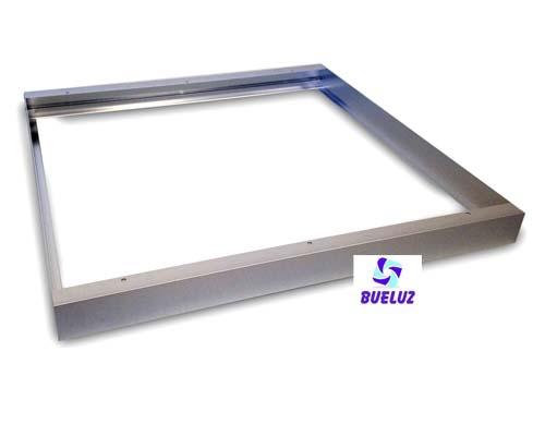Set niquel montaje en superficie pantalla LED 60 x 60