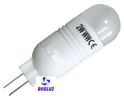 2-PIN LED G-4 2W 3000ºK