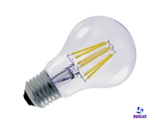 Standar LED E-27 6W Transparente -