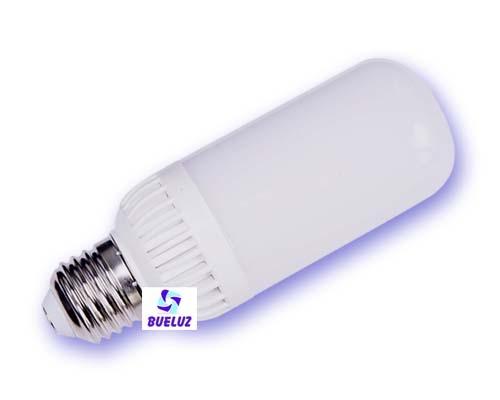 Lampara Tubular LED E27 7W 4200K 360º -