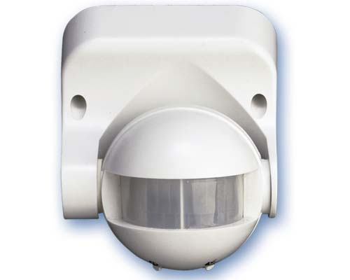 Detector movimiento Superficie 180º Blanco -