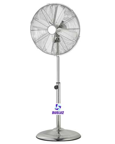 Ventilador Pie Metalico 45 cm diametro -