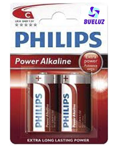 Pila Philips Alcalina (C) LR14