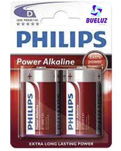 Pila Philips Alcalina (D) LR20