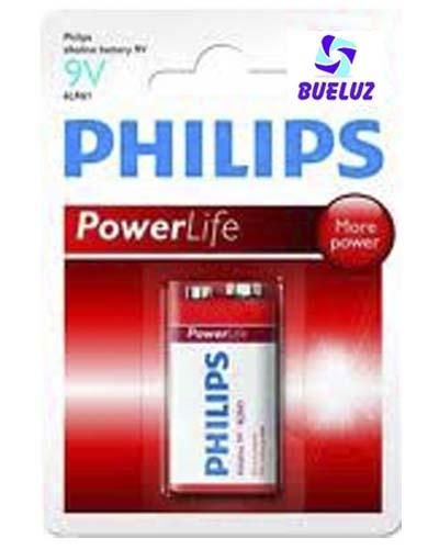 Pila Philips Alcalina (9V) 6LR61