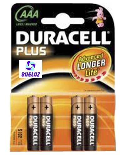 Pila Duracell Plus Alcalina (AAA) LR03 -