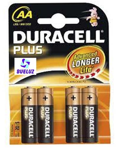Pila Duracell Plus Alcalina (AA) LR6 -