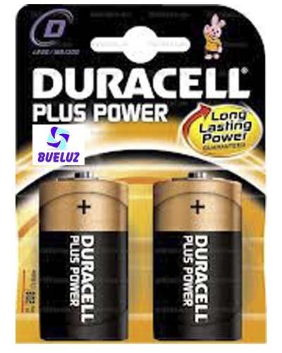 Pila Duracell Plus Alcalina (D) LR20 -