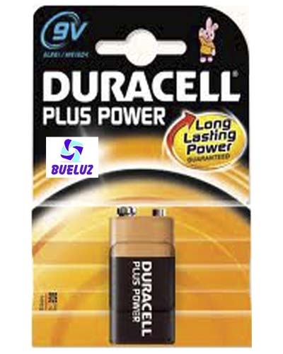 Pila Duracell Plus Alcalina (9V) 6LR61 -