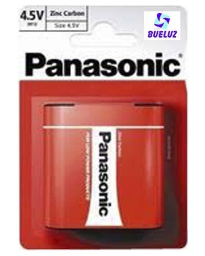 Pila Panasonic Salina (4,5V) 3R12 Roja -