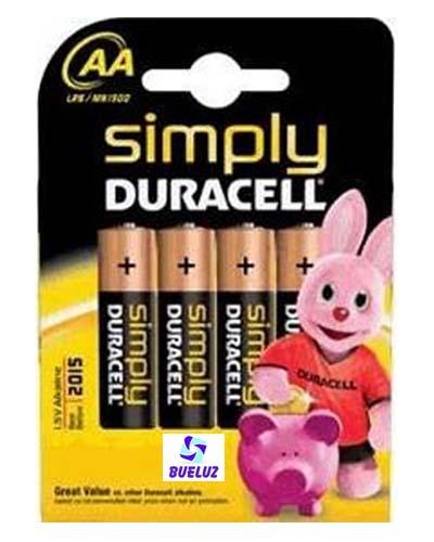 Pila Duracell Simply (AA) LR06