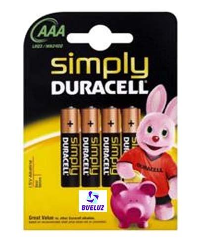 Pila Duracell Simply (AAA) LR03
