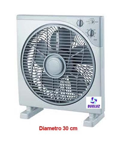 Ventilador Box-Fan 30 cm diametro -