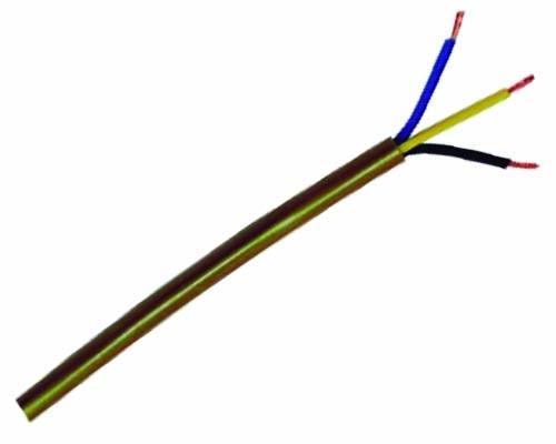 Manguera Redonda 3x0,75mm Dorada